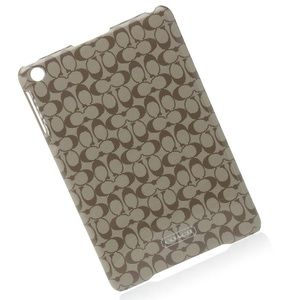 🏹 Coach ❃ iPad Mini Hard Shell Tech Case ❃ Khaki